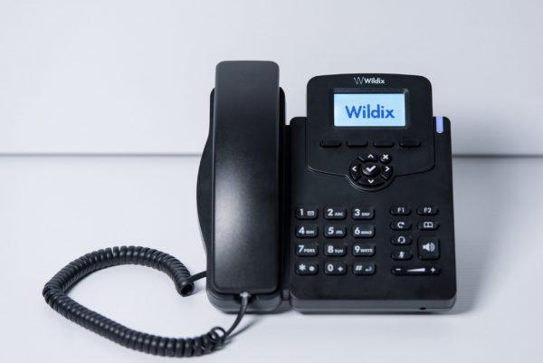 Image: WP410 Wildix IP Telefon einzeln Frontansicht2