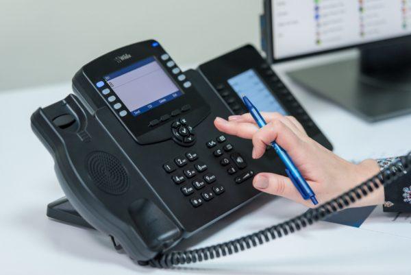 Image: Welcome Console Wildix IP Telefon