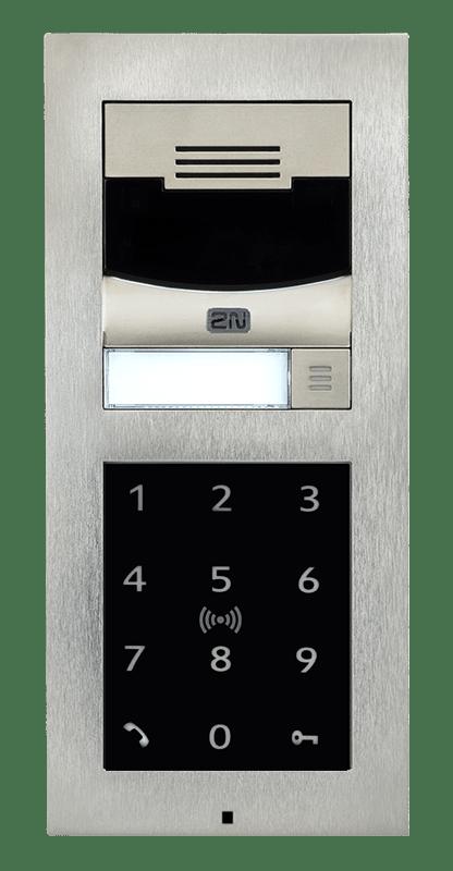 Image: IP Verso Sprechstelle mit Keypad und RFID