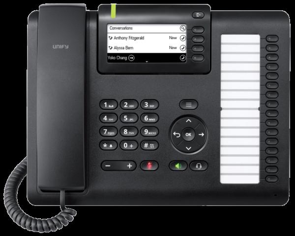 Openscape Deskphone CP400 front