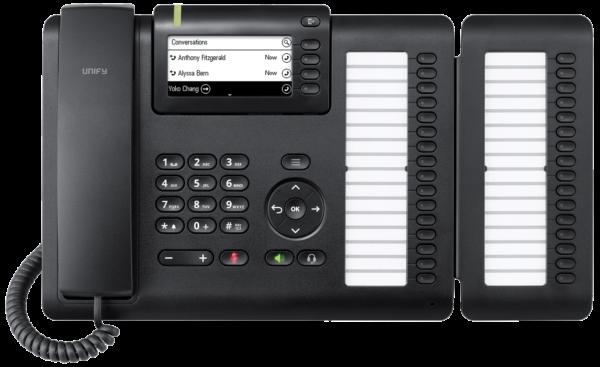 Openscape Deskphone CP400 mit Tastenmodul