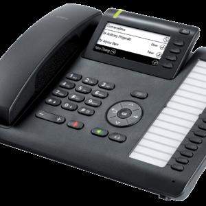 Openscape Deskphone CP400 seitenansicht